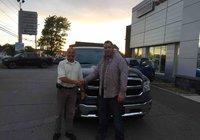 Félicitation à M. Dave Asselin pour l'achat de son nouveau Ram 1500 et bonne été