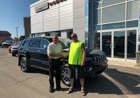 Merci à M. Jean-Yves Pelletier pour l'acquisition de son tout nouveau Jeep Grand Cherokee Limited 2018.