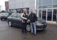 Un gros merci à M. Carol Nolet pour l'acquisition de son nouveau Chrysler 200. Merci M. Nolet de votre fidélité.
