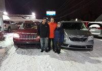 Félicitations à mes 2 clients qui ont prit possession de 2 nouveaux véhicules la même journée....  Rebecca et Maxime MERCI