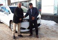 Merci à M. Lucius April pour sa fidèle clientèle et l'acquisition de sa nouvelle Chrysler Pacifica.