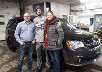 Un énorme merci  à M Vincent Michaud   et  Mme  Martine Bernier pour leur 2e achat au Garage Windsor.