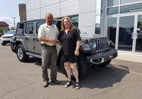 Merci à Mme. Nathalie Picard pour l'achat de son nouveau Jeep Wrangler 2019.