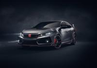 Elle est arrivée : voici la Honda Civic Type R 2017