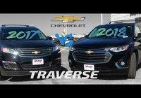 2017 vs 2018 Chevrolet Traverse