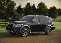 2018 Nissan Armada will offer a revolutionary rear-view mirror system