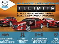 Une garantie de kilométrage illimité chez Mazda