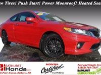 Honda Accord Coupe EX 2013 Certifié Honda! Pneus neufs! Bouton démarrage! Toit électrique! Sièges chauffants!