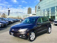 2016 Volkswagen Tiguan Comfortline - Technology Package Local, one owner with one small Claim ($500)