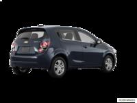 2016 Chevrolet Sonic Hatchback LT   Photo 2   Blue Velvet Metallic