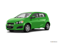 2016 Chevrolet Sonic Hatchback LT   Photo 3   Dragon Green Metallic