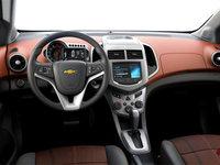 2016 Chevrolet Sonic LT | Photo 3 | Jet Black/Brick Deluxe Cloth