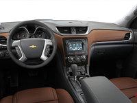 2016 Chevrolet Traverse LTZ | Photo 3 | Ebony/Saddle Perforated Leather