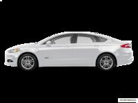 2016 Ford Fusion Energi TITANIUM | Photo 1 | White Platinum