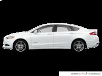 2016 Ford Fusion Hybrid TITANIUM | Photo 1 | Oxford White