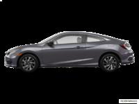 2016 Honda Civic Coupe LX | Photo 1 | Modern Steel Metallic