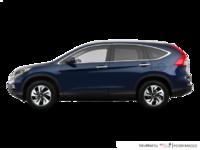 2016 Honda CR-V TOURING | Photo 1 | Obsidian Blue Pearl