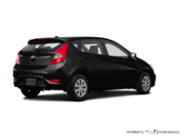 2016 Hyundai Accent 5 Doors LE   Photo 2   Ultra Black