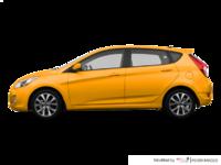 2016 Hyundai Accent 5 Doors SE | Photo 1 | Sunflower Yellow