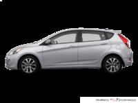 2016 Hyundai Accent 5 Doors SE | Photo 1 | Ironman Silver