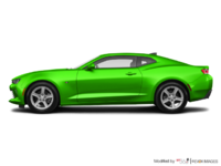 2017 Chevrolet Camaro coupe 1LT   Photo 1   Krypton Green