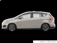 2017 Ford C-MAX HYBRID TITANIUM | Photo 1 | White Gold