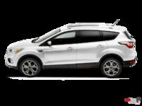 2017 Ford Escape TITANIUM   Photo 1   White Platinum