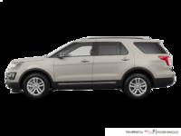 2017 Ford Explorer XLT | Photo 1 | White Gold
