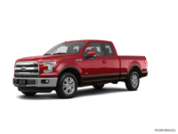 2017 Ford F-150 LARIAT | Photo 3 | Ruby Red Metallic/Caribou