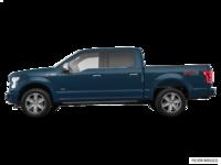 2017 Ford F-150 PLATINUM | Photo 1 | Blue Jeans Metallic