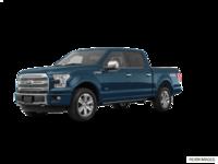 2017 Ford F-150 PLATINUM | Photo 3 | Blue Jeans Metallic