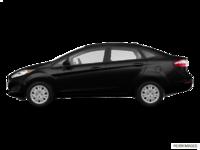 2017 Ford Fiesta Sedan S   Photo 1   Shadow Black