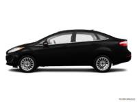 2017 Ford Fiesta Sedan TITANIUM | Photo 1 | Shadow Black