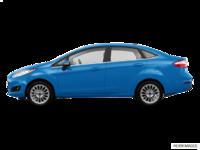 2017 Ford Fiesta Sedan TITANIUM | Photo 1 | Blue Candy
