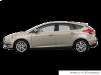 2017 Ford Focus Hatchback TITANIUM | Photo 1 | White Gold