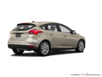 2017 Ford Focus Hatchback TITANIUM | Photo 2 | White Gold