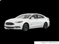 2017 Ford Fusion Energi PLATINUM | Photo 3 | White Platinum