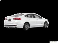 2017 Ford Fusion Energi TITANIUM | Photo 2 | White Platinum