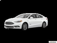 2017 Ford Fusion Energi TITANIUM | Photo 3 | White Platinum