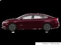2017 Ford Fusion Hybrid TITANIUM | Photo 1 | Burgandy Velvet
