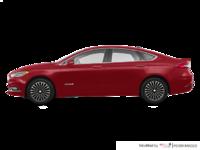 2017 Ford Fusion Hybrid TITANIUM | Photo 1 | Ruby Red