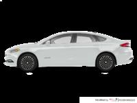2017 Ford Fusion Hybrid TITANIUM | Photo 1 | White Platinum