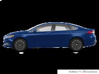 2017 Ford Fusion TITANIUM | Photo 1 | Lightning Blue