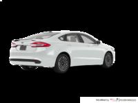2017 Ford Fusion TITANIUM | Photo 2 | White Platinum