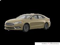 2017 Ford Fusion TITANIUM | Photo 3 | White Gold