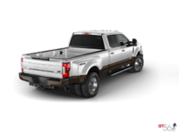 2017 Ford Super Duty F-450 KING RANCH | Photo 2 | White Platinum Metallic/Caribou