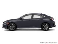 2017 Honda Civic hatchback LX HONDA SENSING | Photo 1 | Polished Metal Metallic