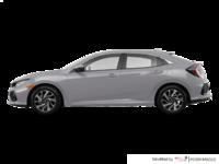 2017 Honda Civic hatchback LX   Photo 1   Lunar Silver Metallic