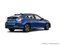 2017 Honda Civic hatchback LX   Photo 2   Aegean Blue Metallic
