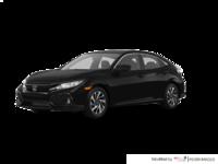 2017 Honda Civic hatchback LX   Photo 3   Crystal Black Pearl